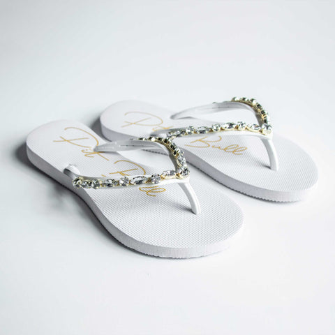 Women Slippers with chains - 37128