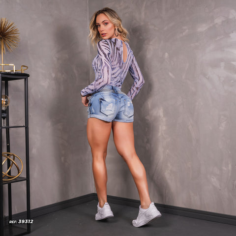 Women Denim Short - 39312
