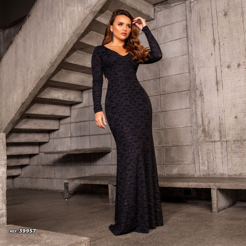 Women Long Dress - 39957