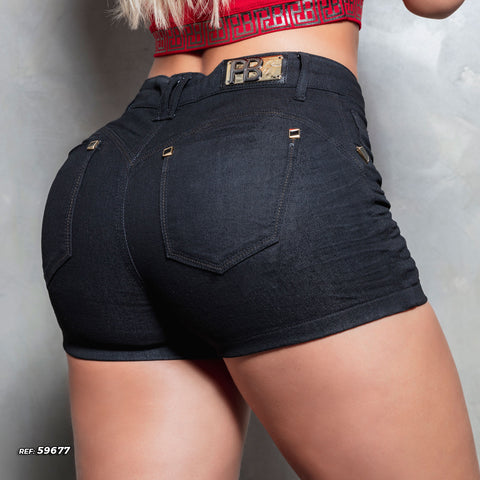Women Denim Short - 59677