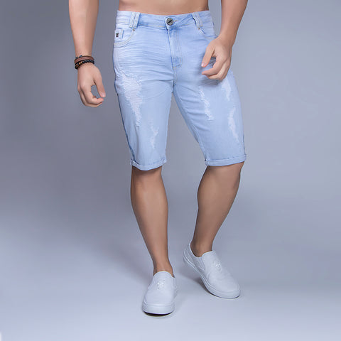 Men's Denim Bermudas Shorts - 29377