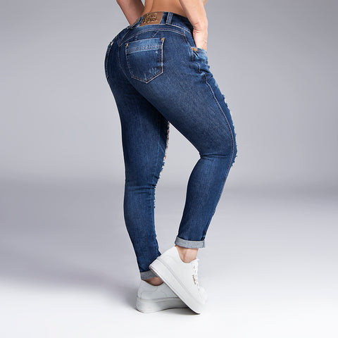Women's Super Destroyed Skinny Jeans, 30799