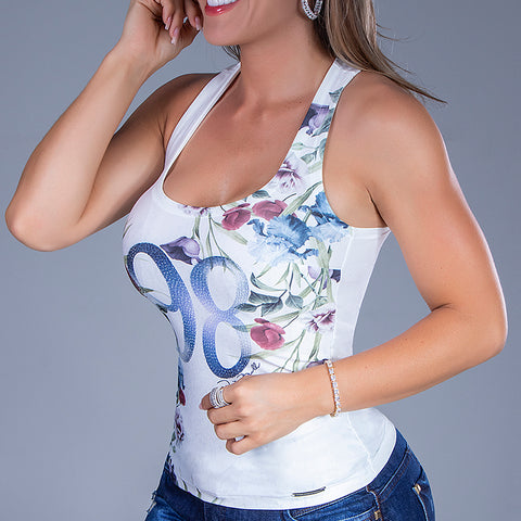 Women's 98 Flowers Tank Top - 31851