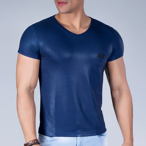 Men's Full Metallic Tee, 31594