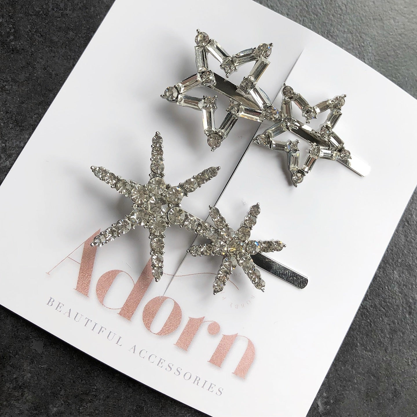 Alya & Alpha Star Pins