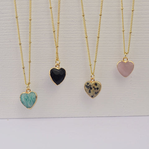 Sally Heart Necklace