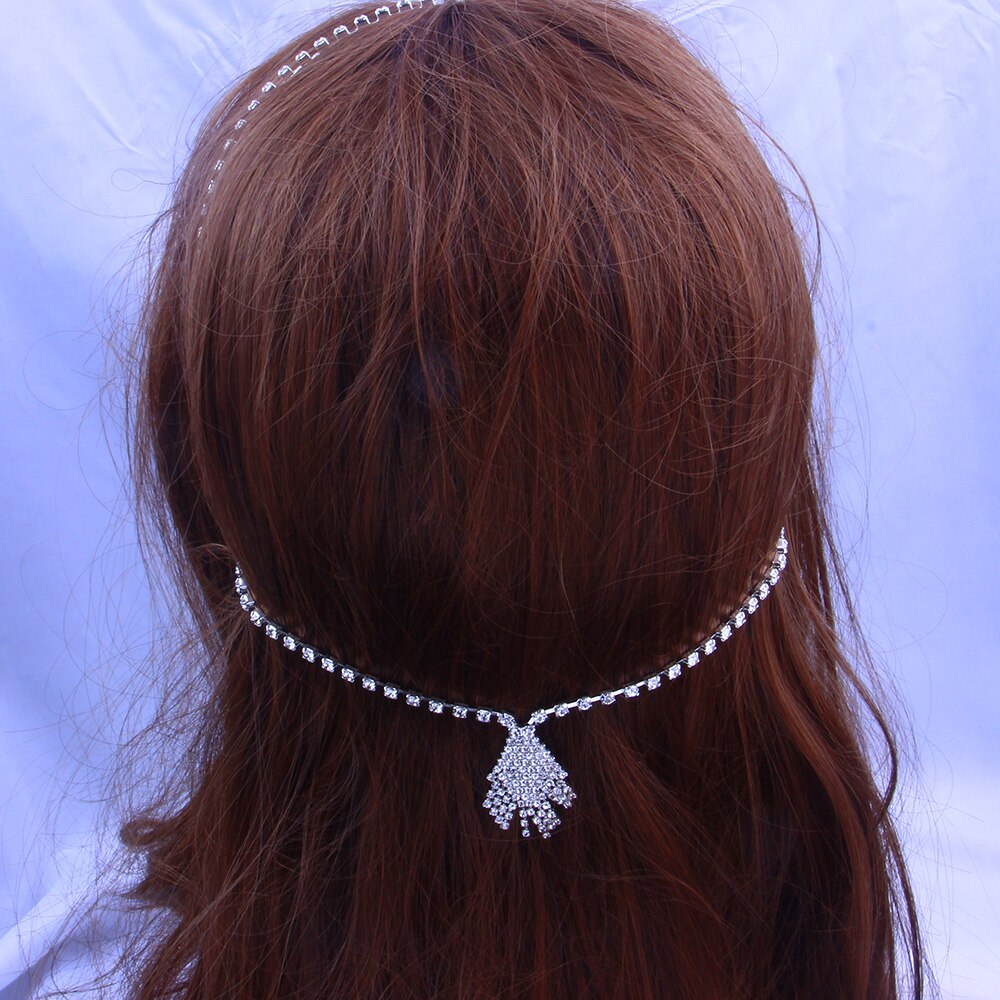 Crystal Hair Chain Headband