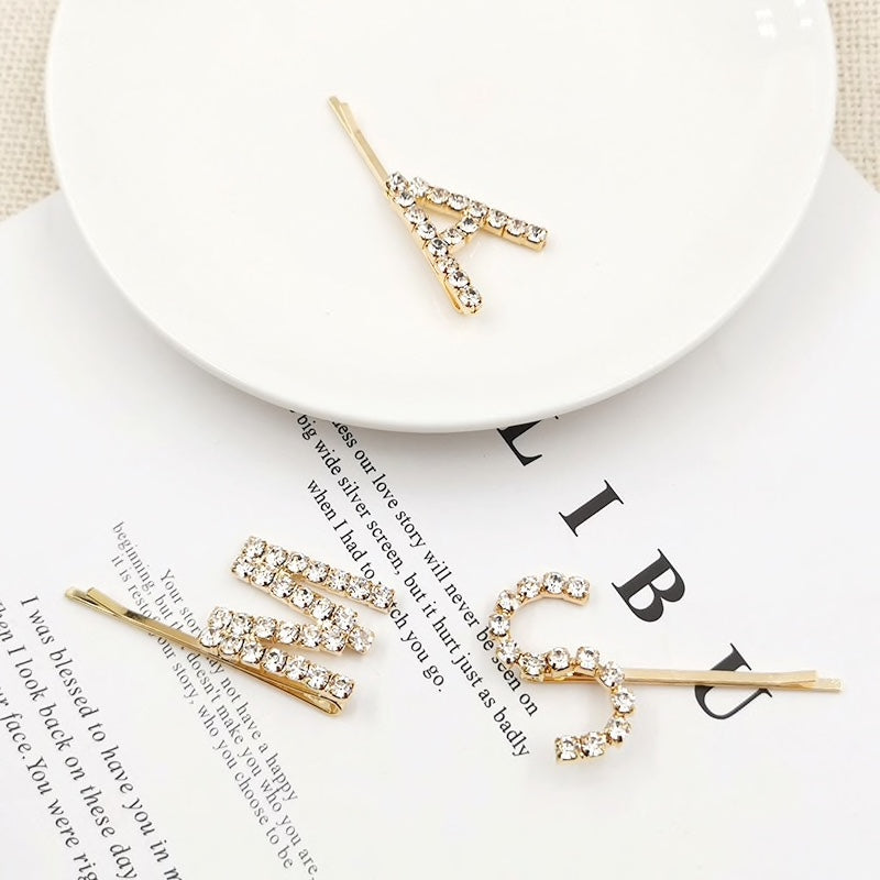 Say It With Crystals Hair Pins