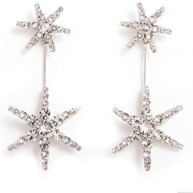 Vela Star Earrings