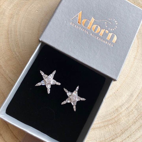 Lynx Star Earrings