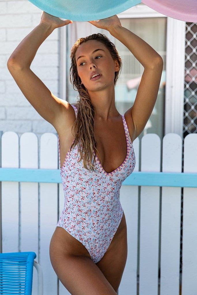 Amalfi One Piece in Coachella