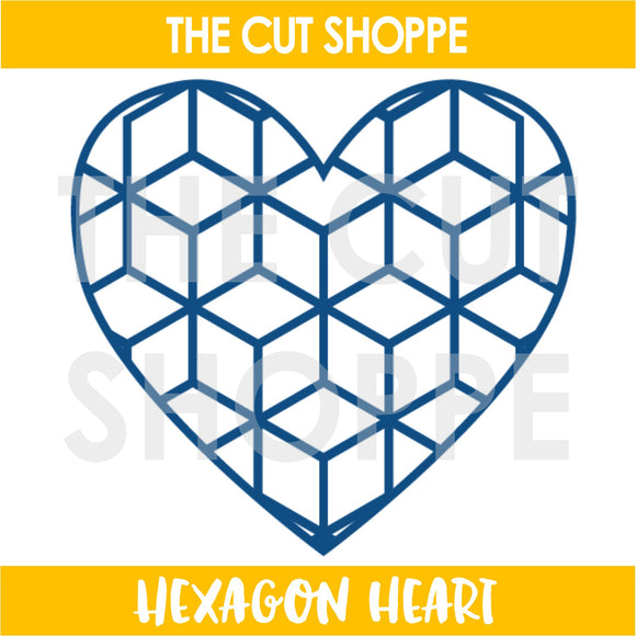 Hexagon Heart