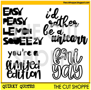 Quirky Quotes