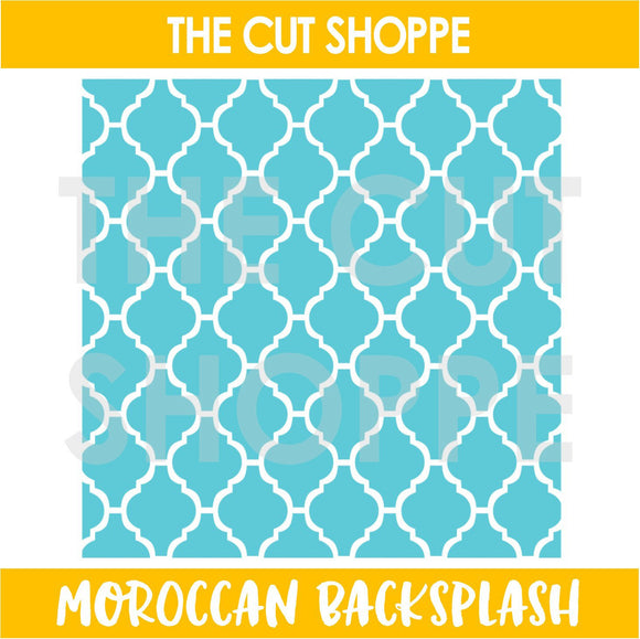 Moroccan Backsplash