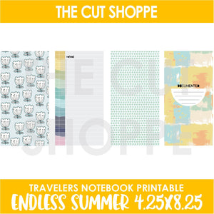 Endless Summer Printable