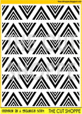 Chevron in a Triangle