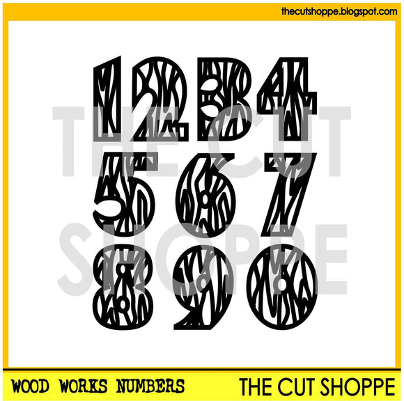 Wood Works Numbers