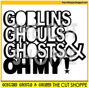 Goblins Ghouls Ghosts