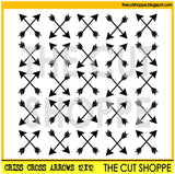 Criss Cross Arrows