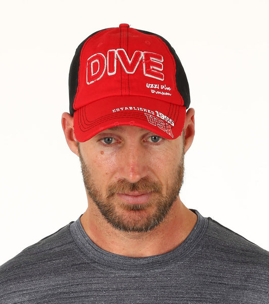NEW #CHB485 DIVE DIVISION UZZI CAP ONE SIZE FITS ALL