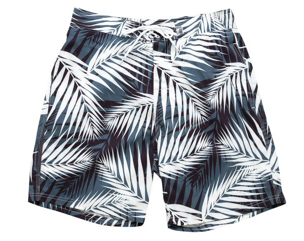 UZZI STRETCH BOARD SHORTS WITH ELASTIC AND LINING #MBS03