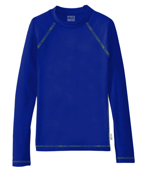 UZZI KIDS LONG SLEEVE RASH GUARD  #3701