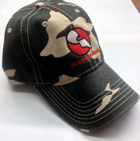 #SNH06  camo special edition SCUBANATION BY UZZI  HAT ONE SIZE FIT ALL