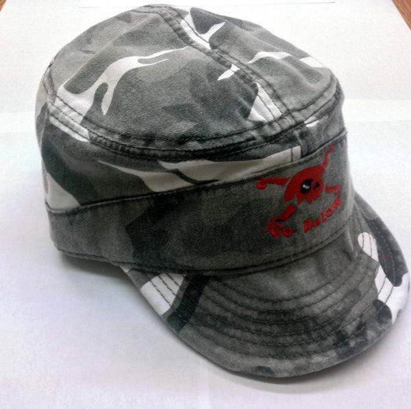 #SNH05 castro camo special edition SCUBANATION BY UZZI  HAT ONE SIZE FIT ALL
