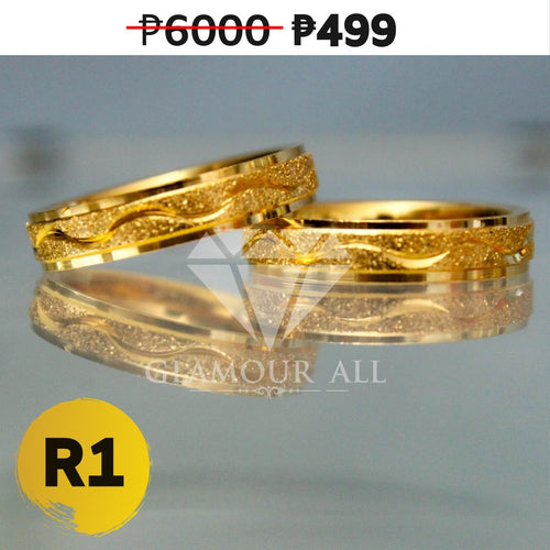 R1 - Glamour All Couple Ring