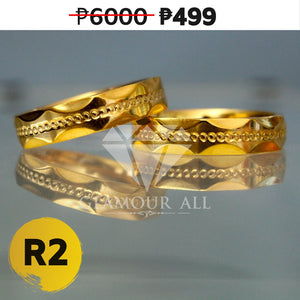 R2 - Glamour All Couple Ring