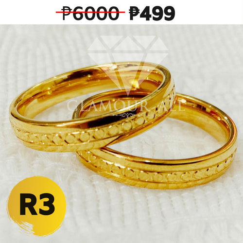 R3 - Glamour All Couple Ring