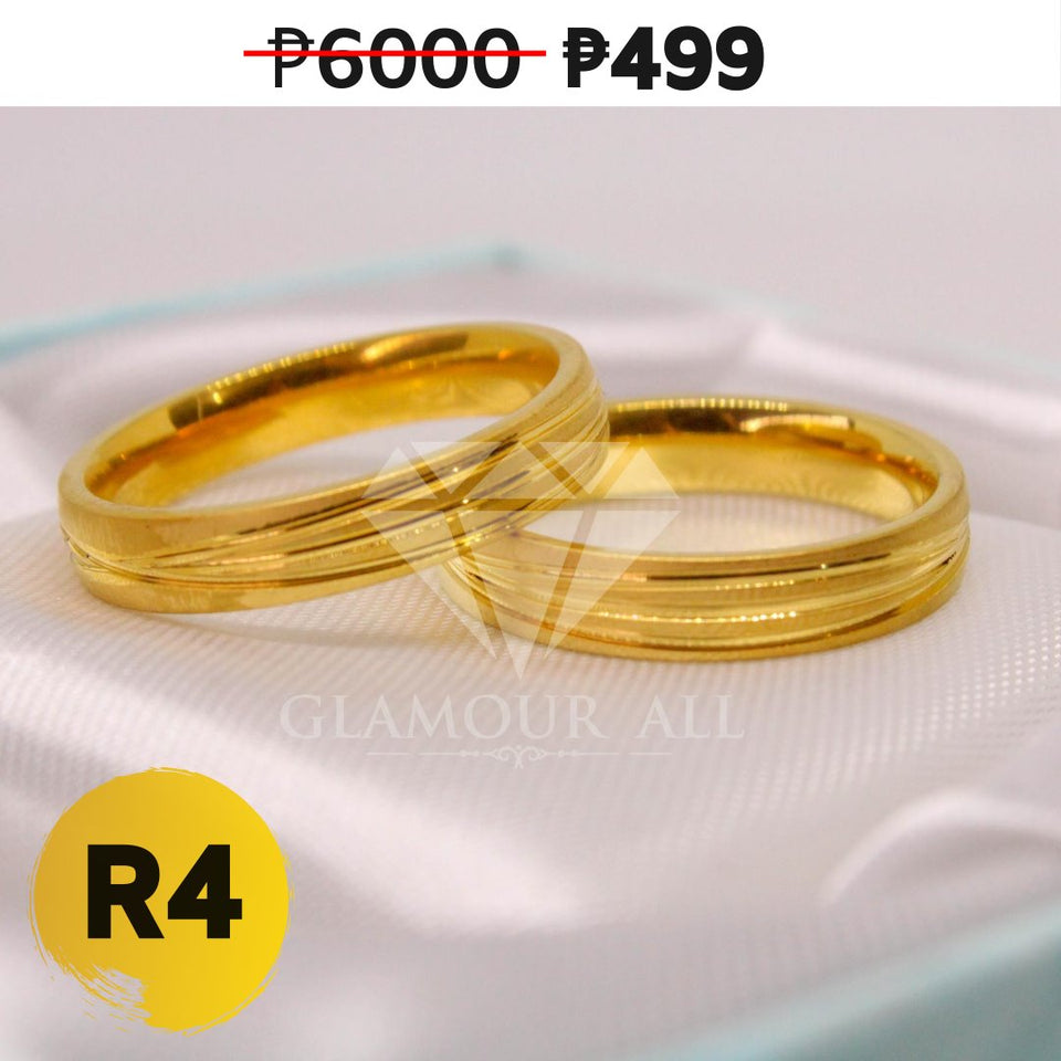 R4 - Glamour All Couple Ring