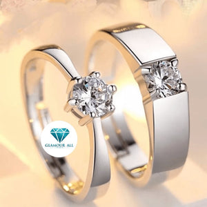 Glamour All Eternal Love Couple Ring