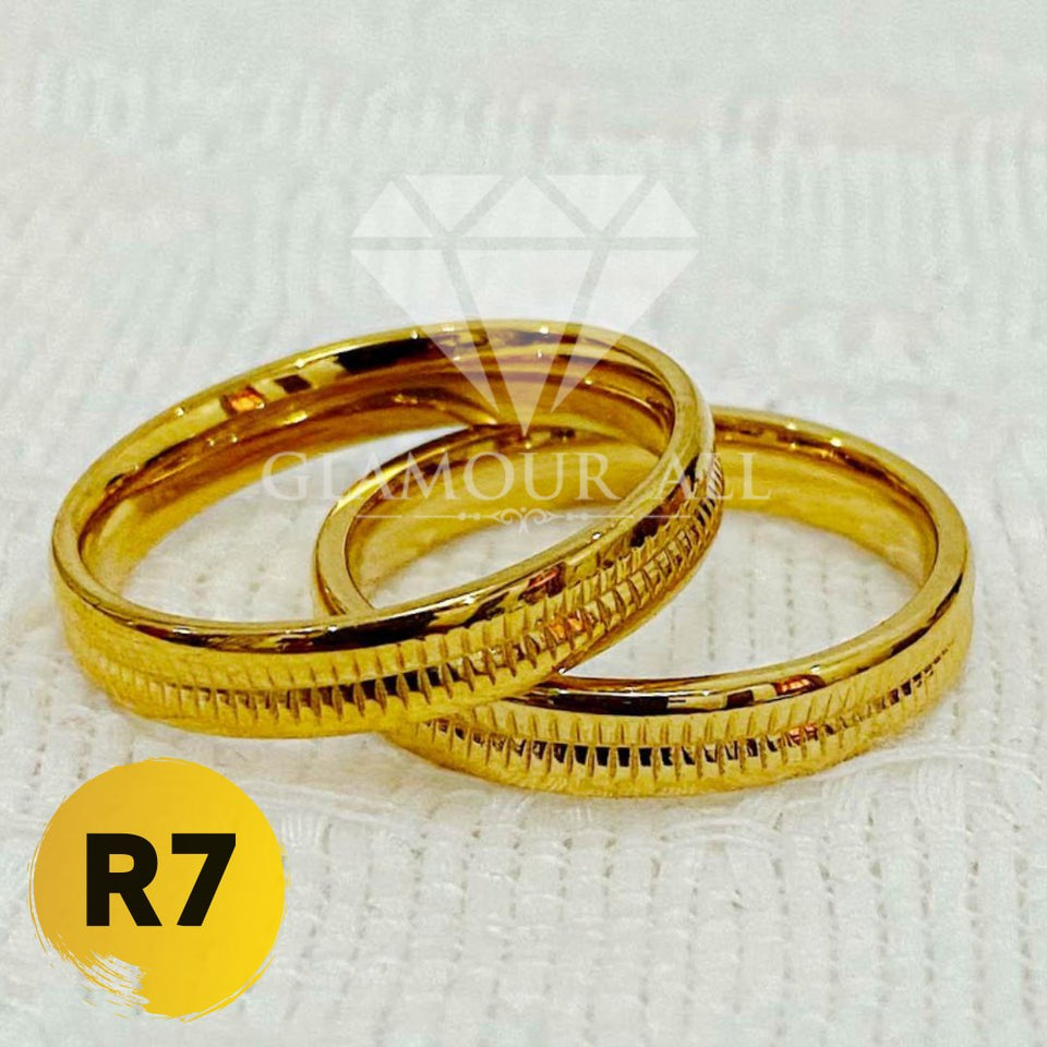 R7 - Glamour All Couple Ring