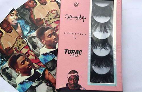 TUPAC EDITION LASH BOOK