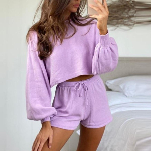 Low Tide Knit Jumper - Purple
