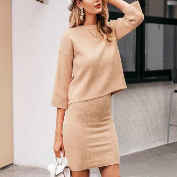 Victoria Dress and Sweater