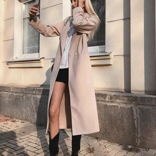 Autumn Wool Coat