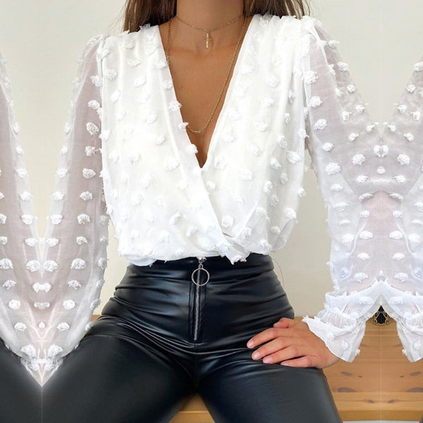 Joy Ruffle Blouse