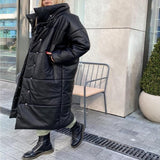 Winter Warm Leather Parkas