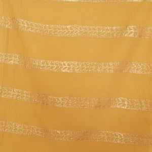 SAREE -Gold Foil Printed Fish Saree