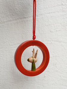 RUDOLF-IN-A-RING ornament
