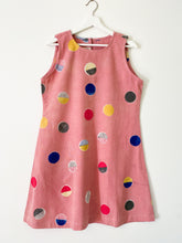Load image into Gallery viewer, Peach Pink Candy Sleeveless Dress