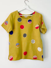 Load image into Gallery viewer, Yellow Candy Half-Sleeve Top
