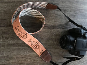 Camera Strap with Fishes