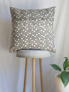 Linen kantha Cushion With Cage