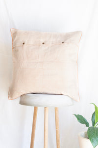 Linen Cushion Cover With Fishes
