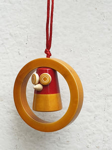 GOOBE-IN-A-RING tree ornament