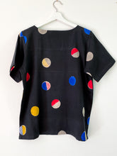 Load image into Gallery viewer, Black Candy Half-Sleeve Top