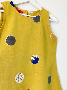 Yellow Candy Sleeveless Dress